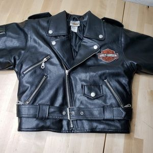 Harley Davidson Faux Leather kids Jacket